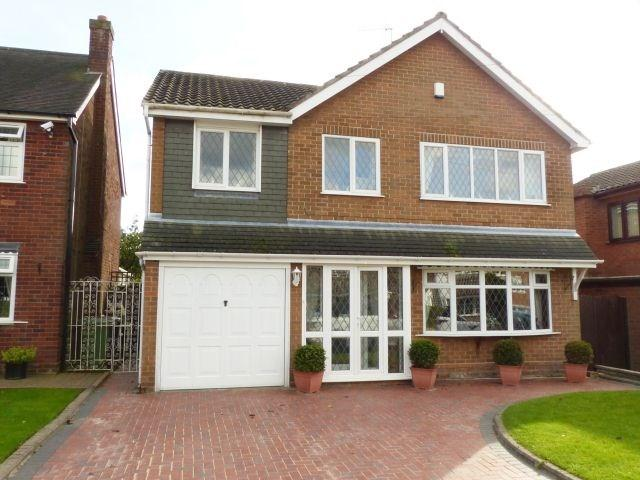 4 Bedrooms Detached House for sale in Daisy Bank Close, Pelsall
