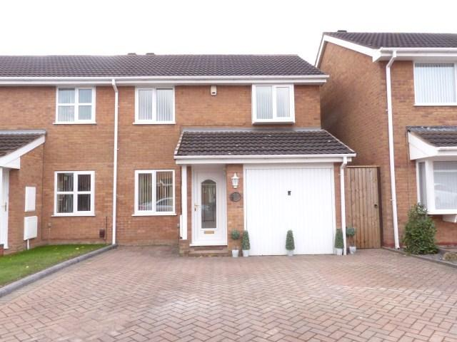 3 Bedrooms Semi Detached House for sale in Hanwell Close, Sutton Coldfield