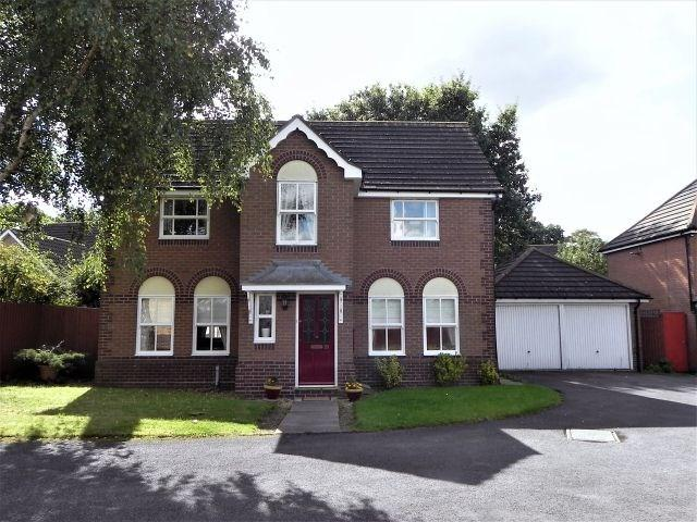 4 Bedrooms Detached House for sale in Warrington Close, Sutton Coldfield