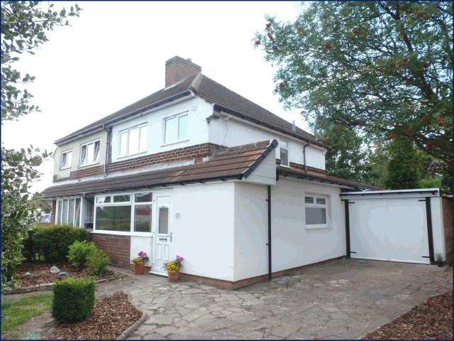 3 Bedrooms Semi Detached House for sale in Vicarage Road, Brownhills