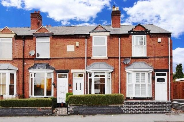 2 Bedrooms Terraced House for sale in Wolverhampton Road, Cannock