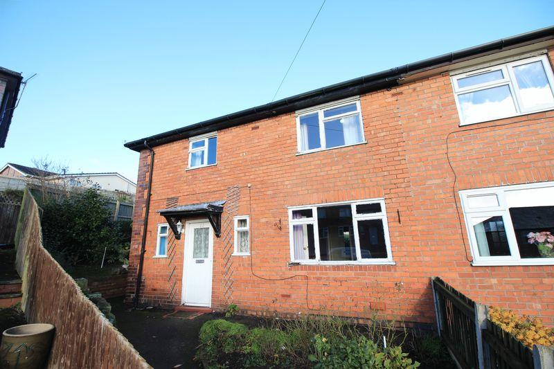 3 Bedrooms Semi Detached House for sale in Hillside, Oswestry
