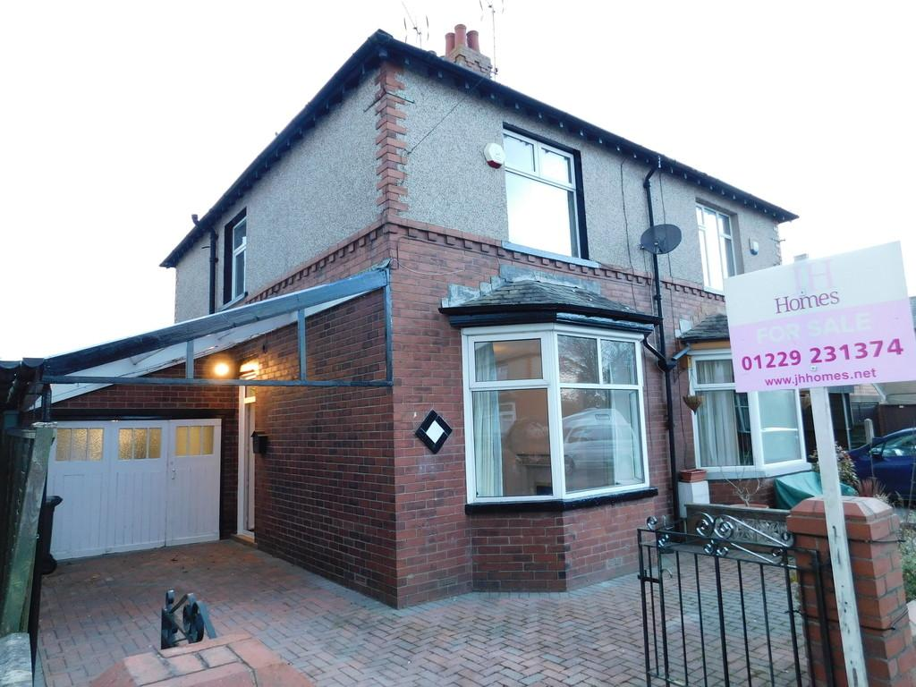 2 Bedrooms Semi Detached House for sale in 4 Hare Lane, Barrow-in-Furness LA13 9LL