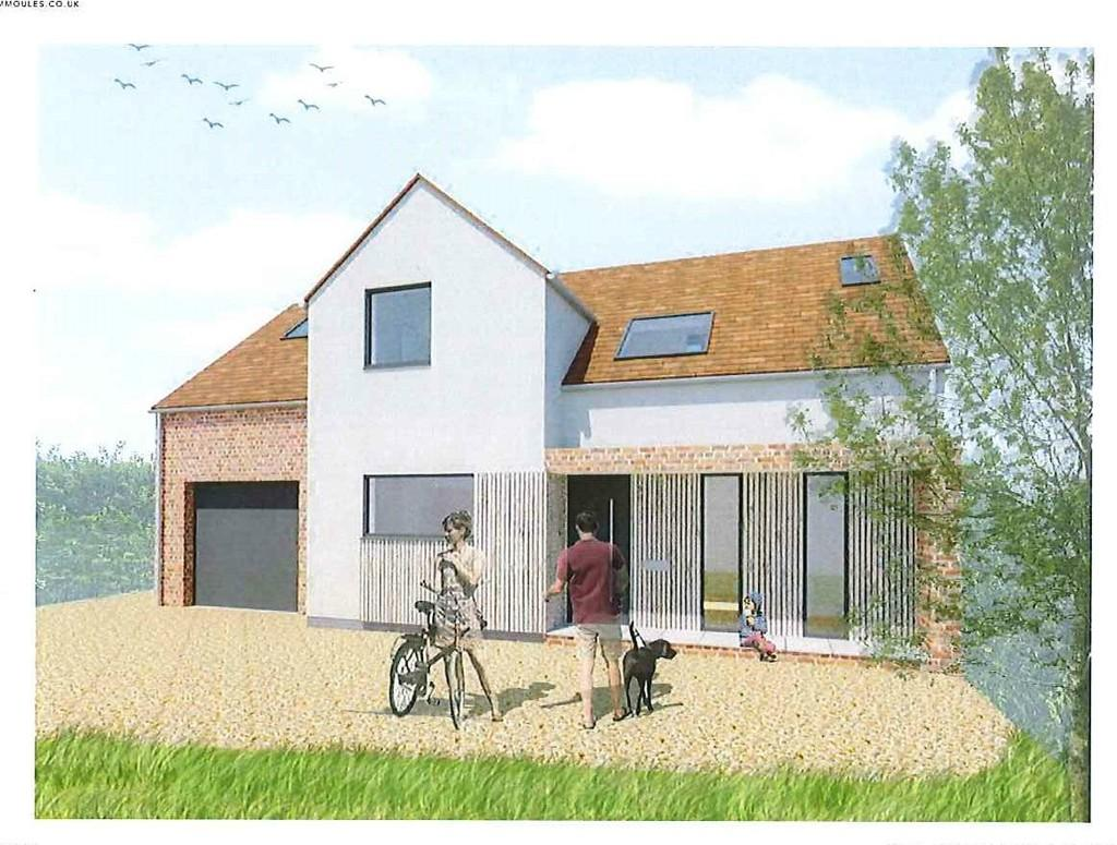 4 Bedrooms Detached House for sale in The White Bungalow, Crawley End, Chrishall, Royston, Herts, SG8 8QJ