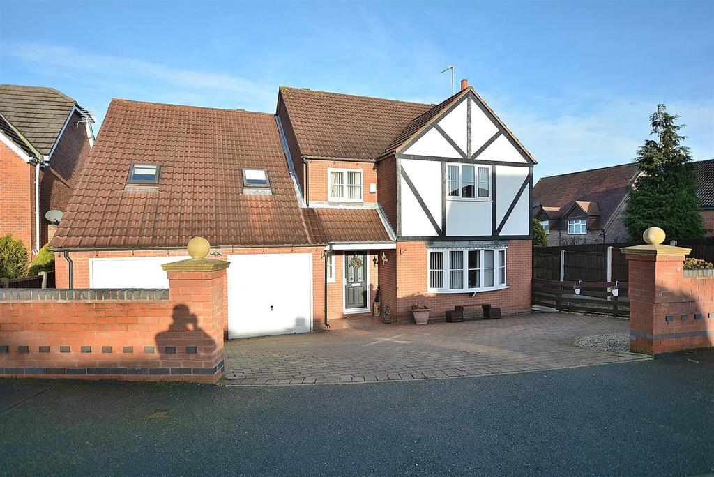 5 Bedrooms Detached House for sale in Hawthorne Close, Stanton Hill, Sutton-In-Ashfield