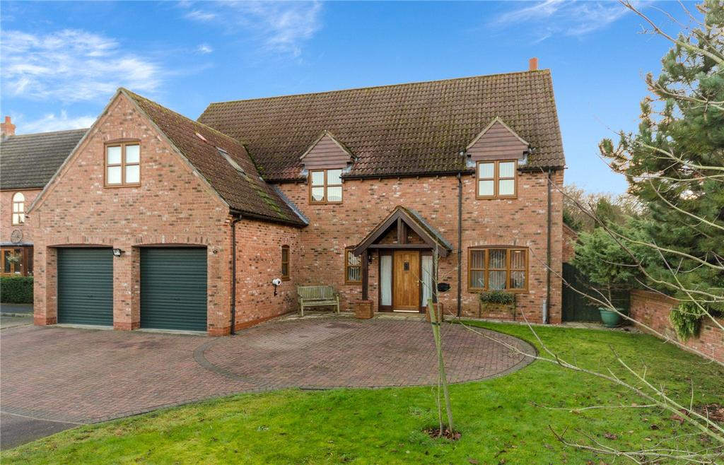 5 Bedrooms Detached House for sale in Lime Grove, Bassingham, Lincoln, Lincolnshire, LN5