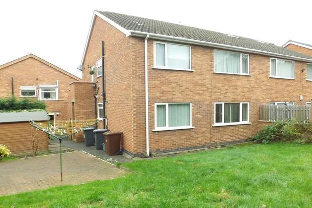 2 Bedrooms Flat for sale in Smithy Crescent, Arnold, Nottingham, NG5