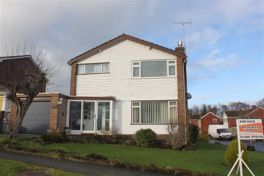 3 Bedrooms Detached House for sale in Llwyn Estyn, Deganwy, Conwy