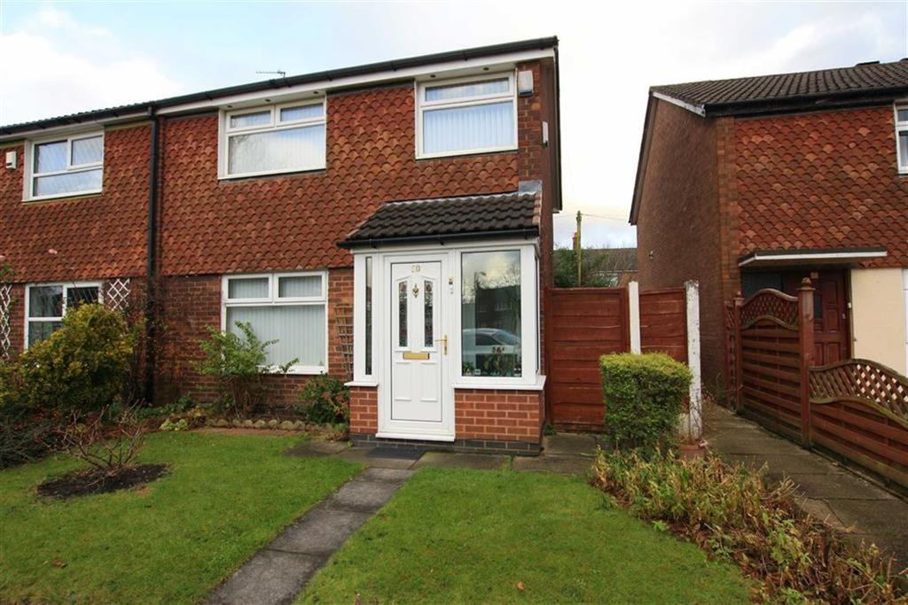 3 Bedrooms End Of Terrace House for sale in Sandbach Road, Sale