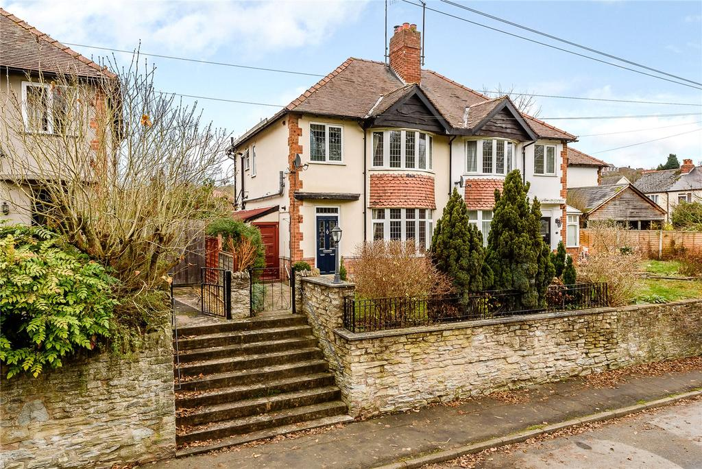 3 Bedrooms Semi Detached House for sale in Temeside Estate, Ludlow, Shropshire