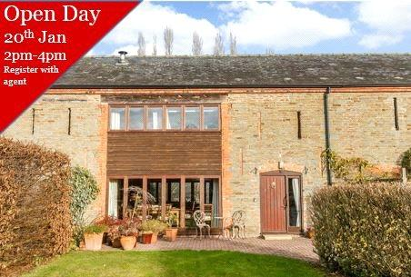 3 Bedrooms Barn Conversion Character Property for sale in Bury Court Barns, Bury Court Park, Wigmore, Leominster