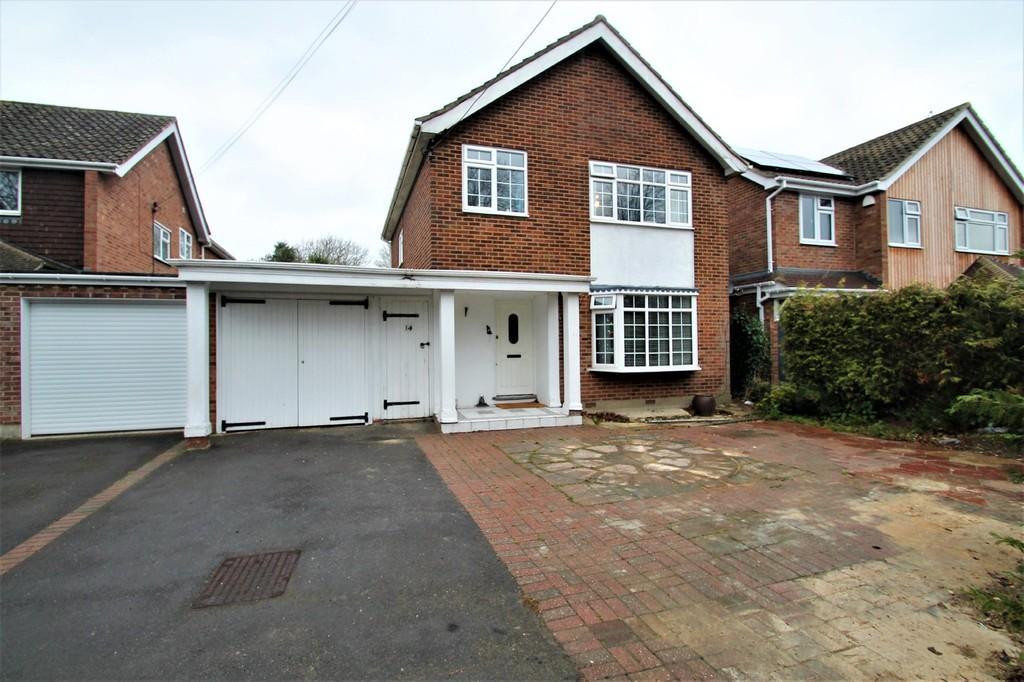 3 Bedrooms Detached House for sale in School Lane, Broomfield
