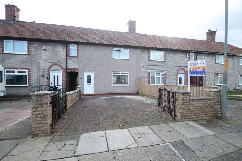 2 Bedrooms Terraced House for sale in Mendip Road, Billingham