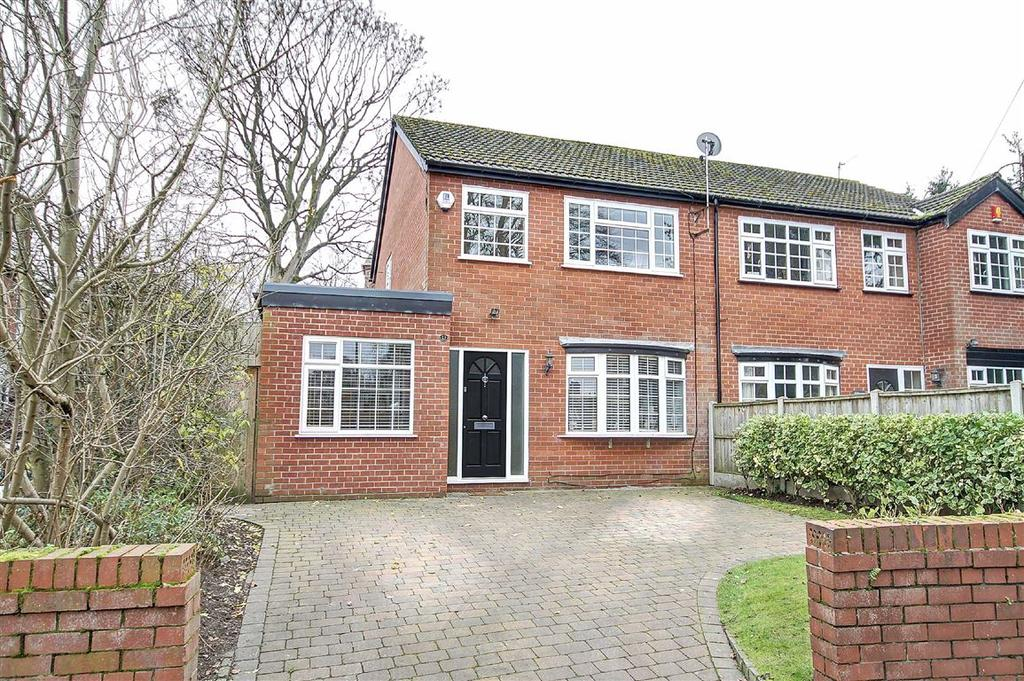 3 Bedrooms Semi Detached House for sale in Townfield Road, Altrincham, Cheshire