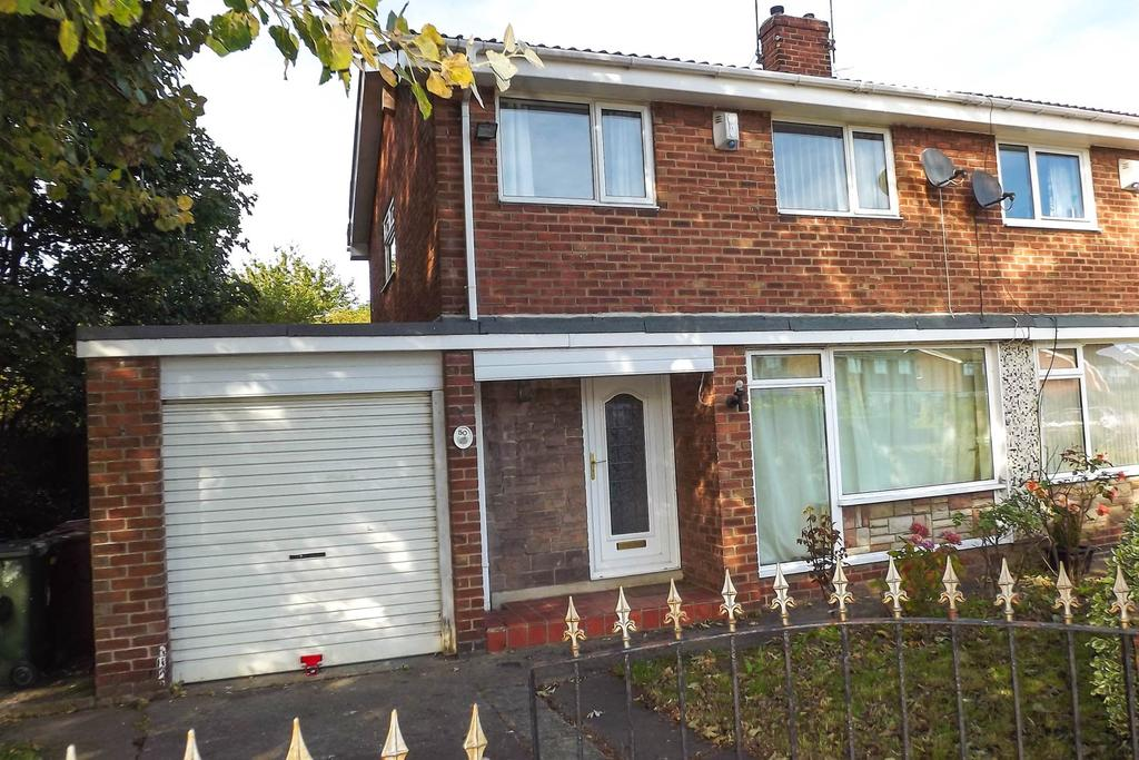 3 Bedrooms Semi Detached House for sale in Hauxley Drive, Gosforth