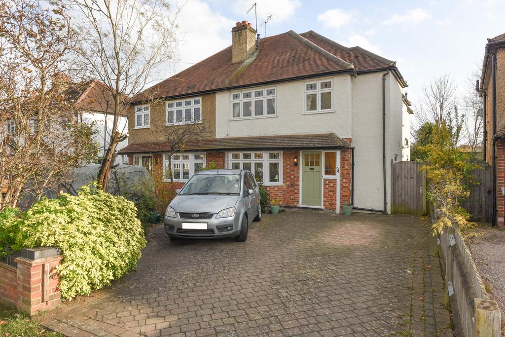 4 Bedrooms Semi Detached House for sale in Rydens Road, WALTON ON THAMES KT12