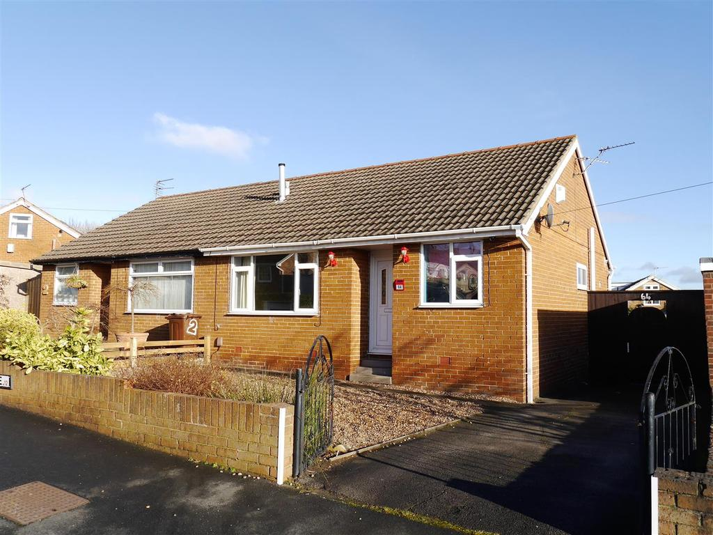 2 Bedrooms Semi Detached Bungalow for sale in Caldene Avenue, Low Moor, Bradford, BD12 0JP