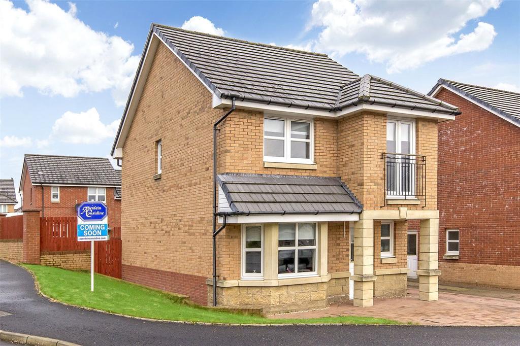3 Bedrooms Detached House for sale in 1 Finch Grove, Coatbridge, Lanarkshire, ML5