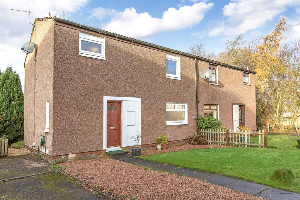 3 Bedrooms Semi Detached House for sale in 6 Lowes Court, Scone, Perthshire, PH2