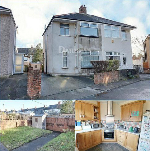 3 bedroom semi-detached house for sale - Fairfax Road, Rhiwbina, Cardiff