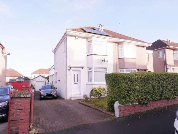 3 Bedrooms Semi-detached Villa House for sale in 11 Bents Road, Baillieston, Glasgow, G69 6QX