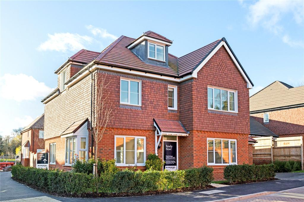 5 Bedrooms Detached House for sale in Plot 37, Woolton Hill, Newbury, Berkshire, RG20