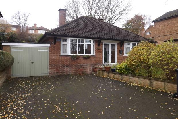 2 Bedrooms Detached Bungalow for sale in Hilton Road, Mapperley, Nottingham, NG3