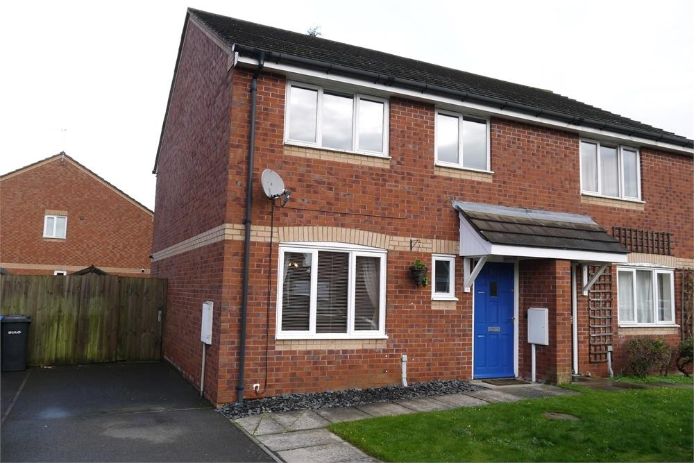 3 Bedrooms Semi Detached House for sale in Lacey Close, Lutterworth, Leicestershire