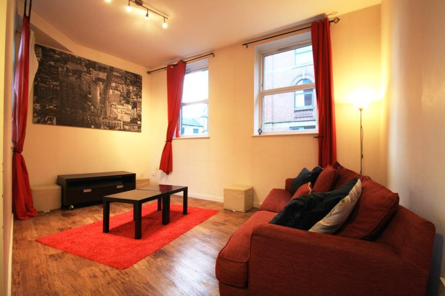 1 Bedroom Apartment Flat for rent in 14 HARPER STREET, LEEDS, LS2 7EA