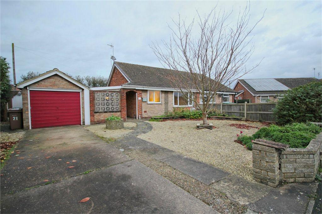 2 Bedrooms Semi Detached Bungalow for sale in Hansard Drive, Gilberdyke, Brough, East Riding of Yorkshire