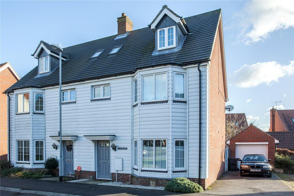 4 Bedrooms Semi Detached House for sale in Cromwell Road, Flitch Green, Dunmow, Essex, CM6
