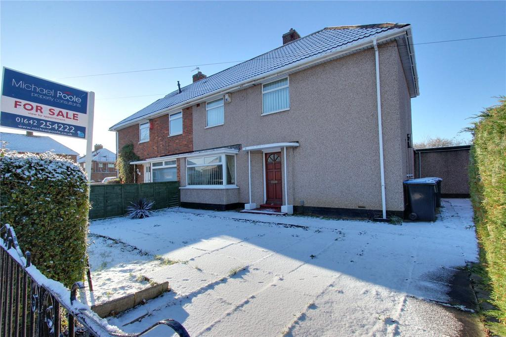 3 Bedrooms Semi Detached House for sale in Copgrove Close, Middlesbrough