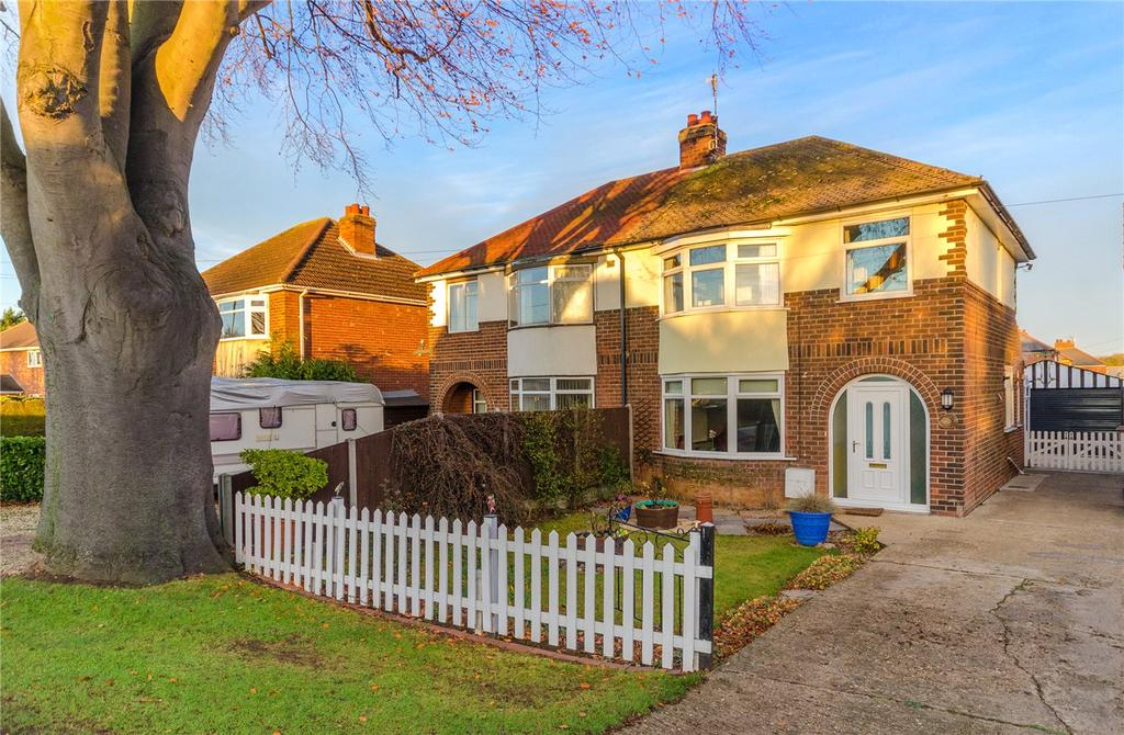 3 Bedrooms Semi Detached House for sale in Lincoln Road, Sleaford, Lincolnshire, NG34
