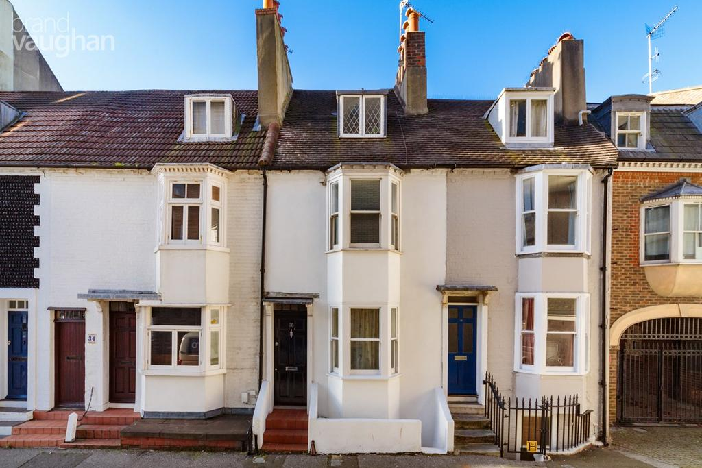 3 Bedrooms Terraced House for sale in Marlborough Place, Brighton, BN1