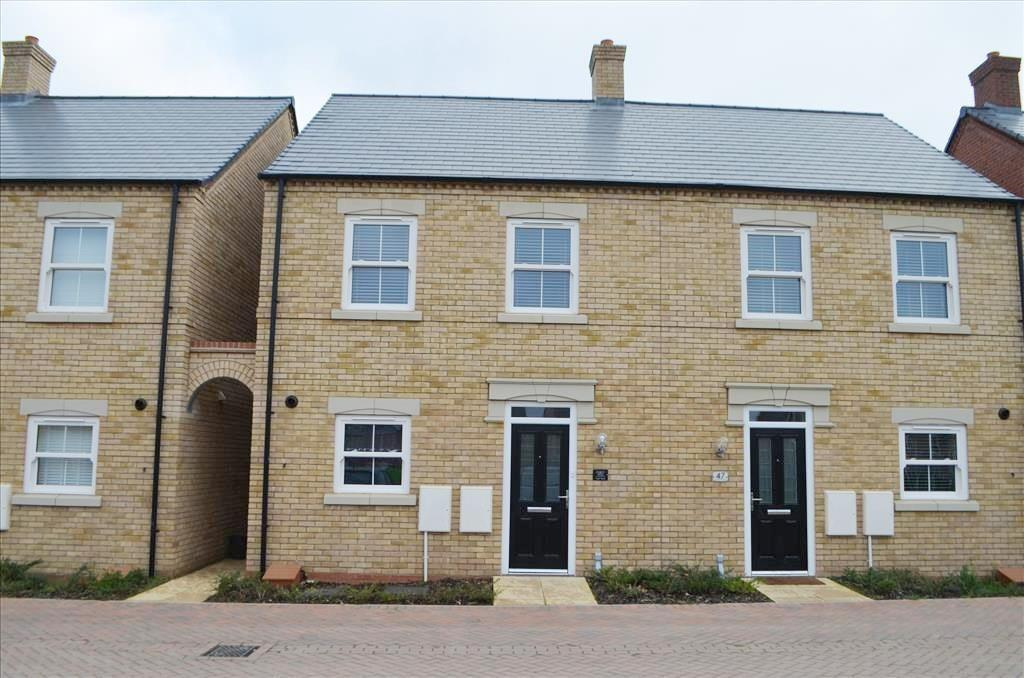 2 Bedrooms Semi Detached House for sale in Collings Crescent, Biggleswade, Bedfordshire, SG18