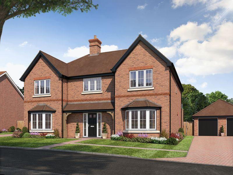 5 Bedrooms Detached House for sale in The Rudgwick, Amlets Place, Cranleigh