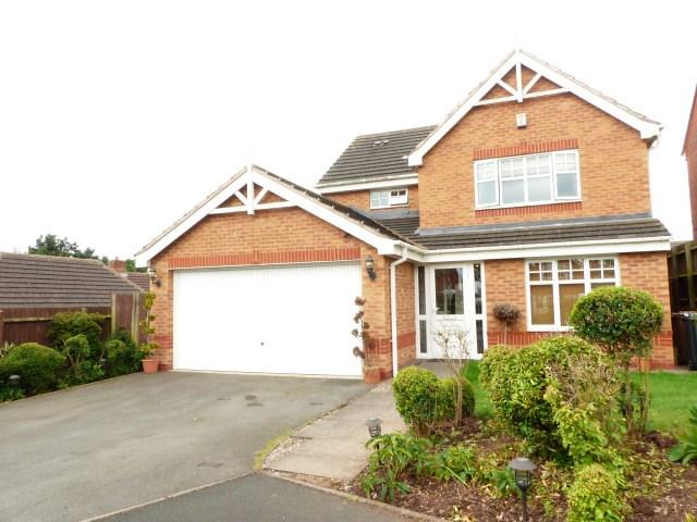 4 Bedrooms Detached House for sale in Katsura Close, Sutton Coldfield