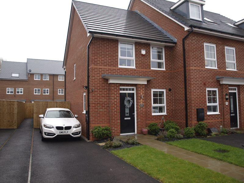 3 Bedrooms End Of Terrace House for sale in Apple Tree Avenue, Winnington, CW8 4UJ