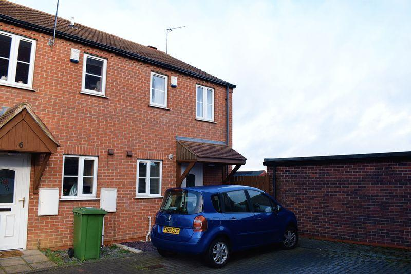 2 Bedrooms End Of Terrace House for sale in Foxton Way, Brigg