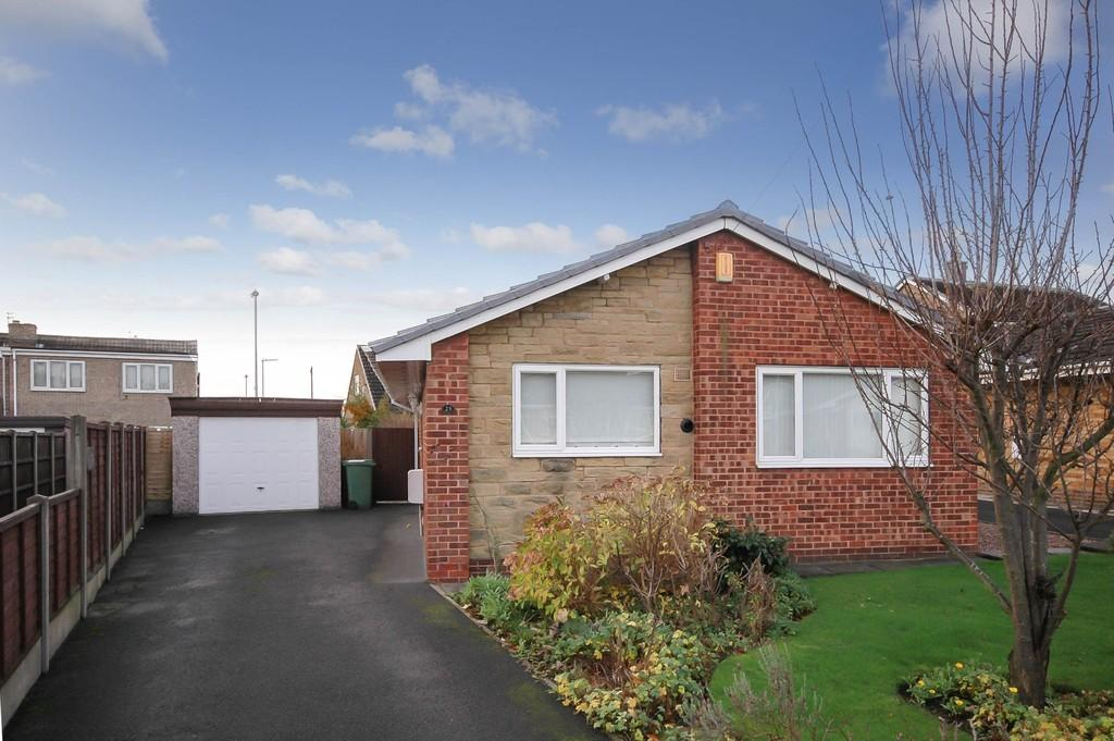 2 Bedrooms Detached Bungalow for sale in Grampian Avenue, Wakefield
