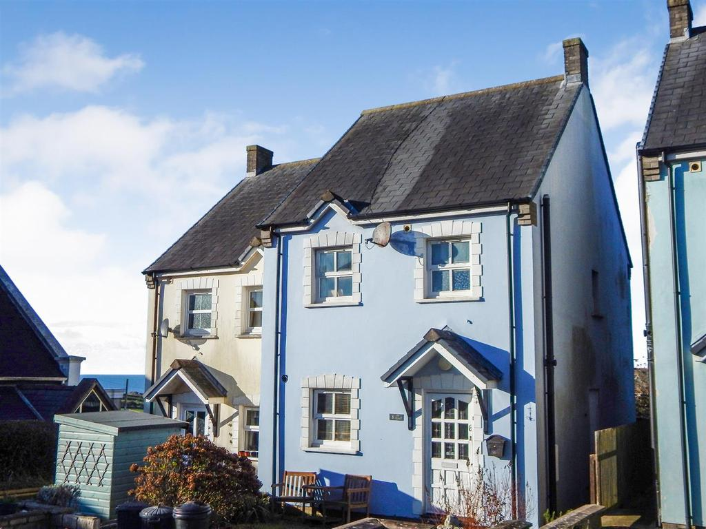 3 Bedrooms Semi Detached House for sale in Clos Sant Cenydd, Llangennith