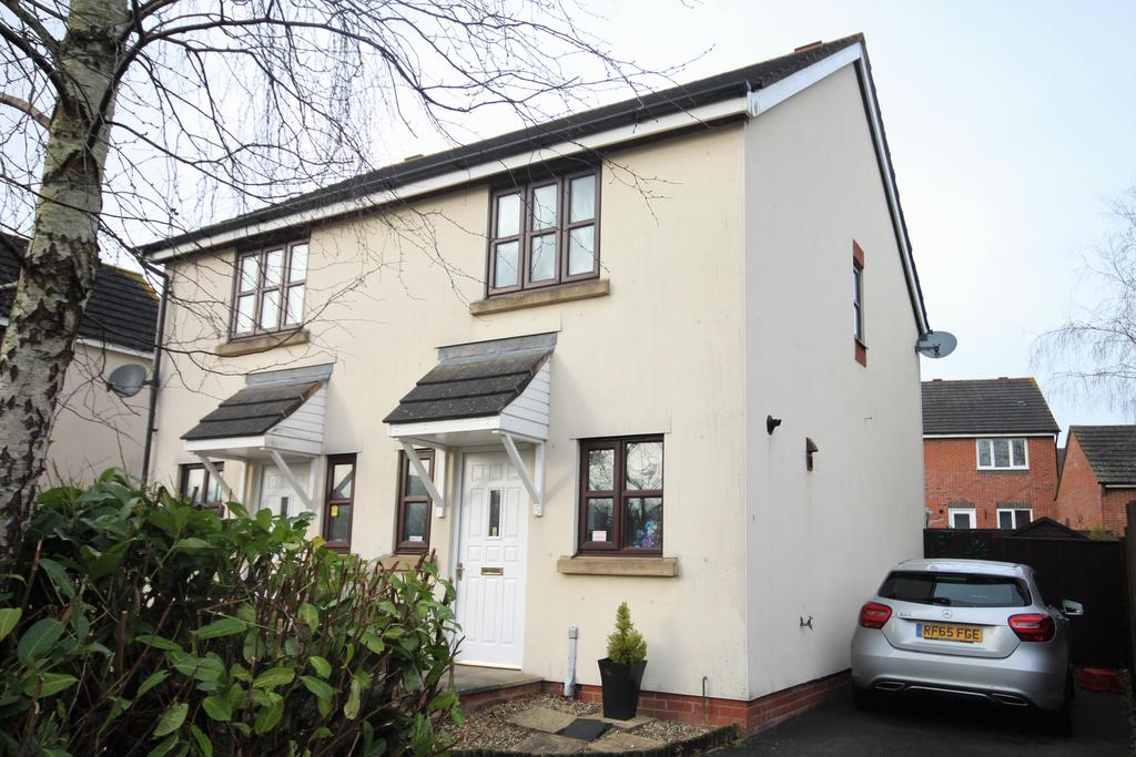 2 Bedrooms Semi Detached House for sale in Mallow Court, Willand, Cullompton EX15