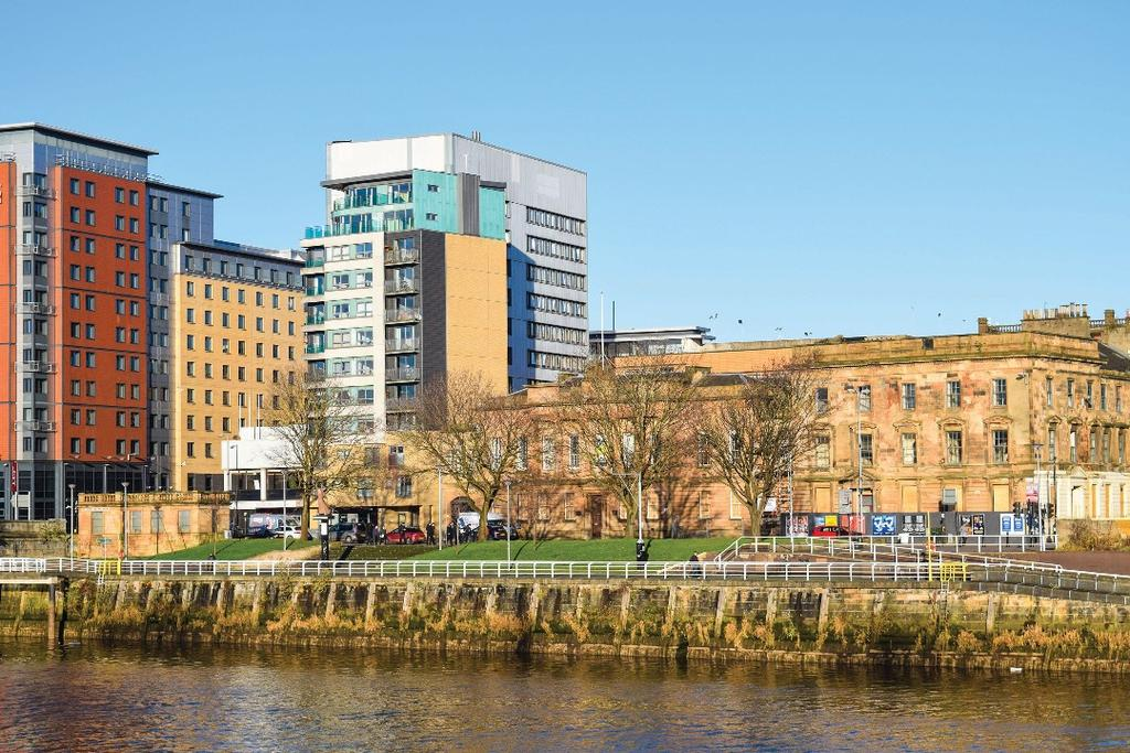 2 Bedrooms Flat for sale in Clyde Street, Flat 4/2, City Centre, Glasgow, G1 4NP