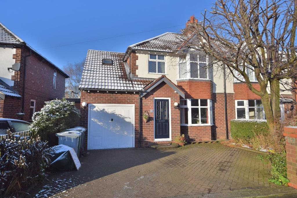 4 Bedrooms Semi Detached House for sale in Pickwick Road, Poynton