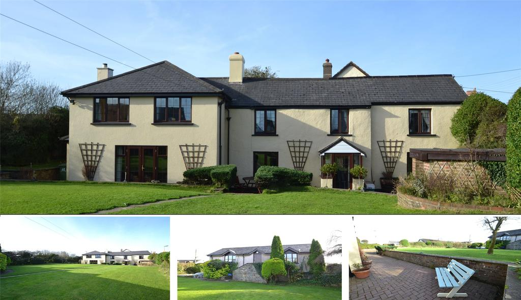 4 Bedrooms Detached House for sale in Buckland Brewer, Bideford