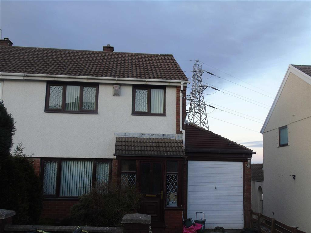 3 Bedrooms Semi Detached House for sale in Heol Pentyla, Llansamlet, Swansea