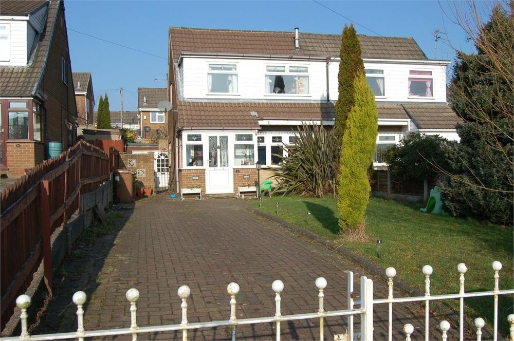 3 Bedrooms Semi Detached House for sale in Redruth Avenue, Laffak, St Helens, Merseyside