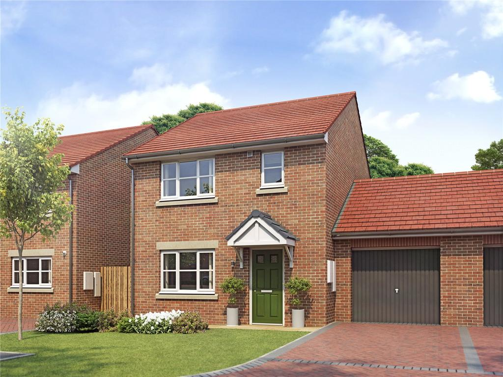 3 Bedrooms Detached House for sale in Plot 24 Orwell Grange, Off Kirk Hill