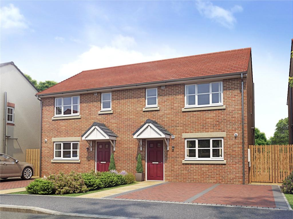 3 Bedrooms Semi Detached House for sale in Plot 20 Orwell Grange, Off Kirk Hill
