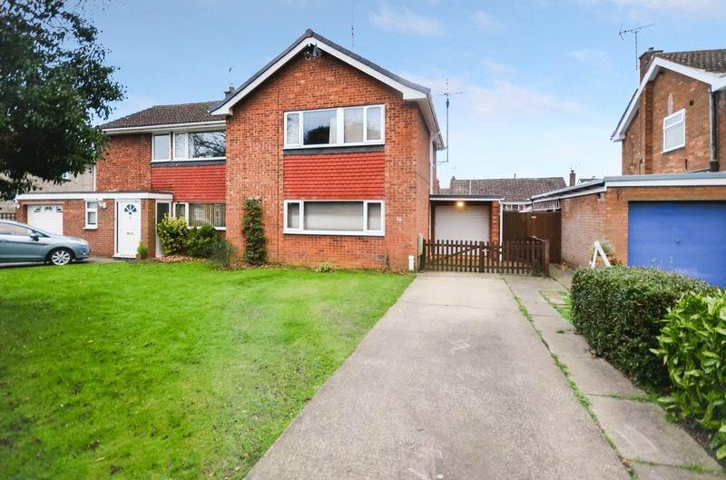 3 Bedrooms Semi Detached House for sale in Sleaford Road, Ruskington, Sleaford, Lincolnshire, NG34